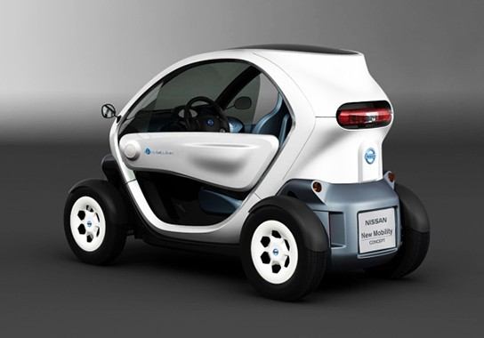 Nissan 2-seater Electric Concept Car 544px