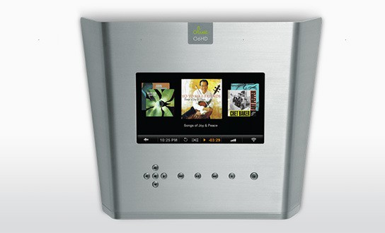 Olive O6HD Music Server - Silver - top view 544px