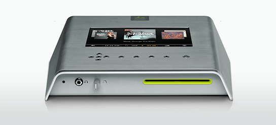 Olive O6HD Music Server - Silver - front view 544px