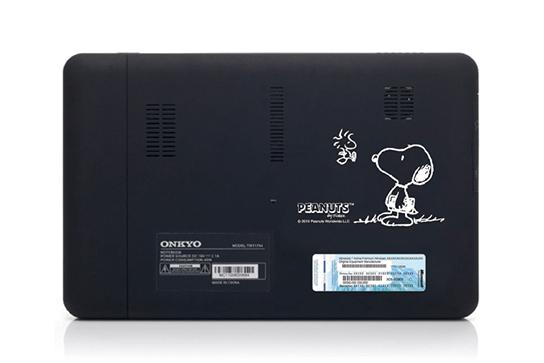 Onkyo Snoopy Tablet - Back 544px
