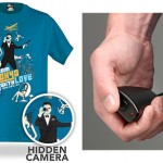 spying with fashion: ThinkGeek electronic spy camera shirt