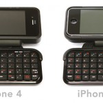 a duo of QWERTY keyboard case for your iPhone
