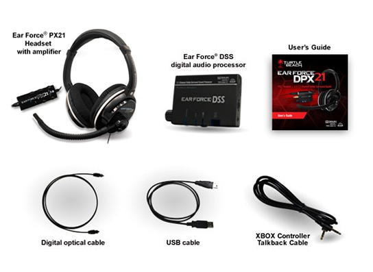 Turtle Beach Ear Force DPX21 - what's in the package 544px