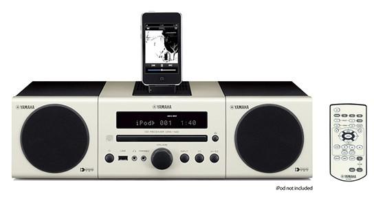 Yamaha MCR-140WH: white 544px