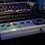 innovative furniture: original functioning NES controller coffee table