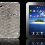 Uber-cool crystallized Galaxy Tab for those who has deep pockets