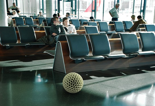 Dave Hakken Dust Ball in airport 544px