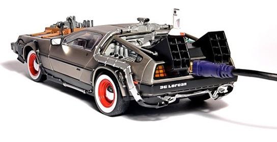FlashRods DeLorean Time Machine Hard Drive img2 544px