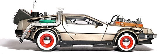 FlashRods DeLorean Time Machine Hard Drive img3 544px
