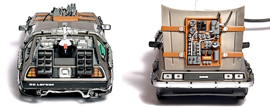 FlashRods DeLorean Time Machine Hard Drive img4 544px