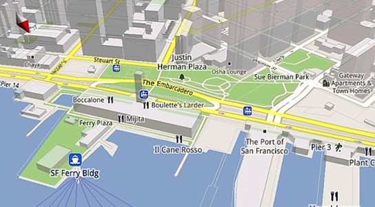Google Maps for Mobile 5 screenshot 544px