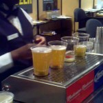 machine bottoms up your beer before you take your gulp