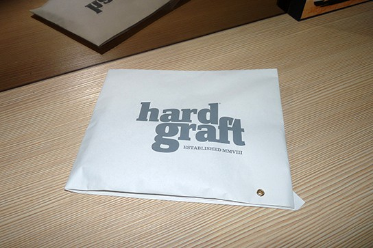 Hard Graft iPhone Wallet - the packaging 544px