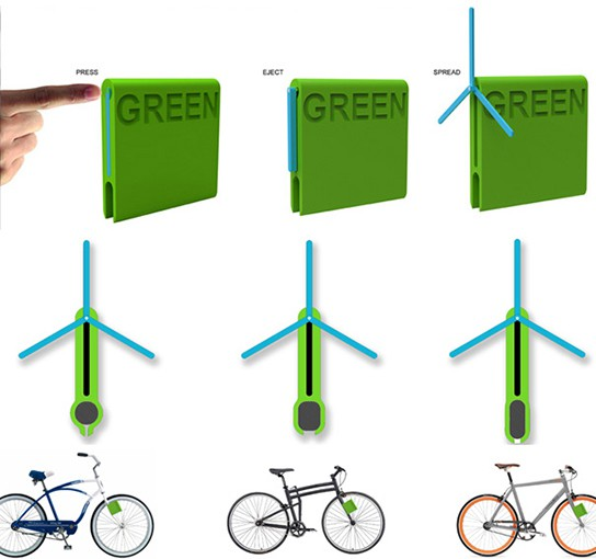 I-Green Bicycle Charging System img2 544px
