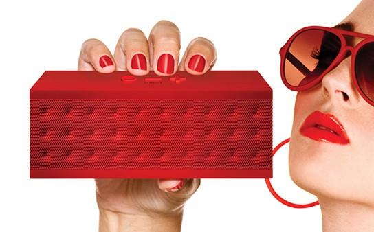 Jawbone JAMBOX Bluetooth Speaker Red Dot 544px