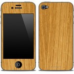 going natural with KARVT wood based skins for iPhone