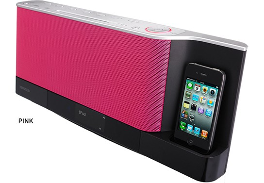 Kenwood CLX-70 Sound Dock - Pink 544px