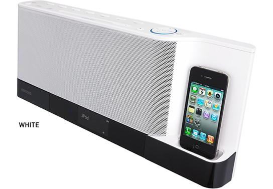 Kenwood CLX-70 Sound Dock - White 544px