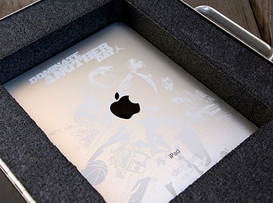 Limited Edition Dominate Another Day iPad inside case 544px
