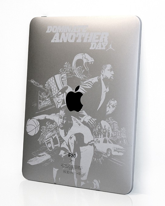 Limited Edition Dominate Another Day iPad etched back 544px