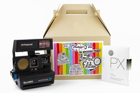 Limited Edition Polaroid 660 Sun Camera img1 544p