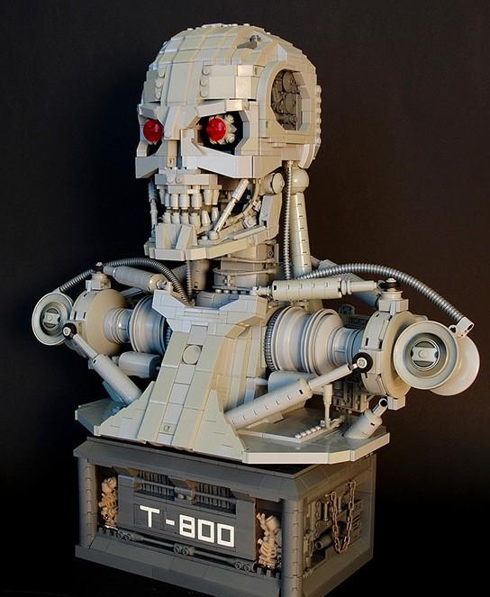 Martin Latta Lego Terminator T800 bust img1 544px