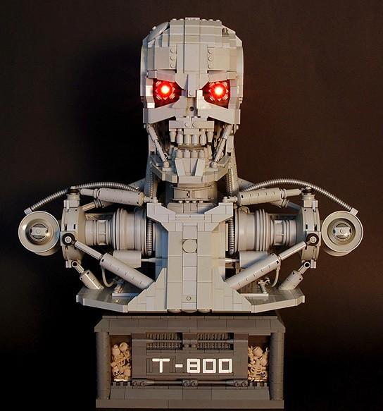 Martin Latta Lego Terminator T800 bust img2 544px