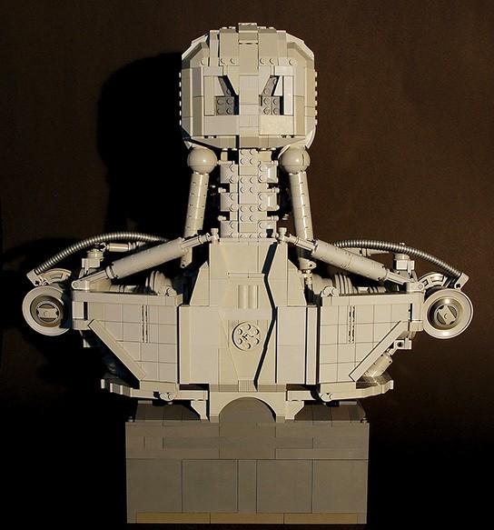 Martin Latta Lego Terminator T800 bust img3 544px