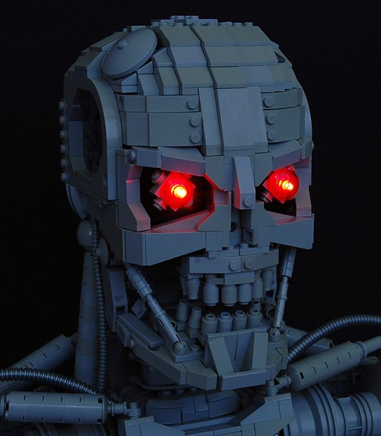 Martin Latta Lego Terminator T800 bust img4 544px