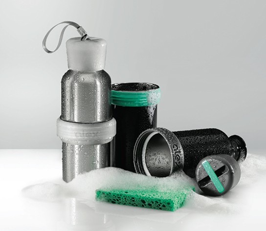 Nice Reuseables Alex Water Bottle - opens up to wash 544px