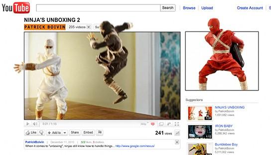 Ninja Unboxing 2 screenshot 544px