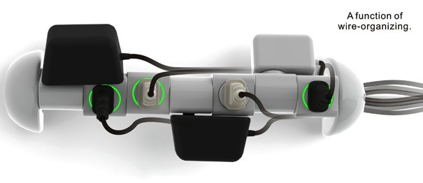 Rotating 360DEG Multi-outlet Socket img3 544px