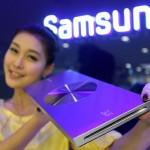 Samsung show-off its new ultra-slim Blu-ray player