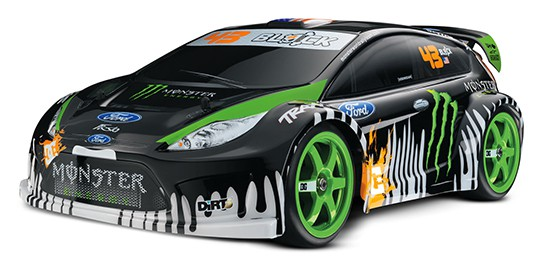 TRAXXAS Ken Block #43 Fiesta - angled front view 544px