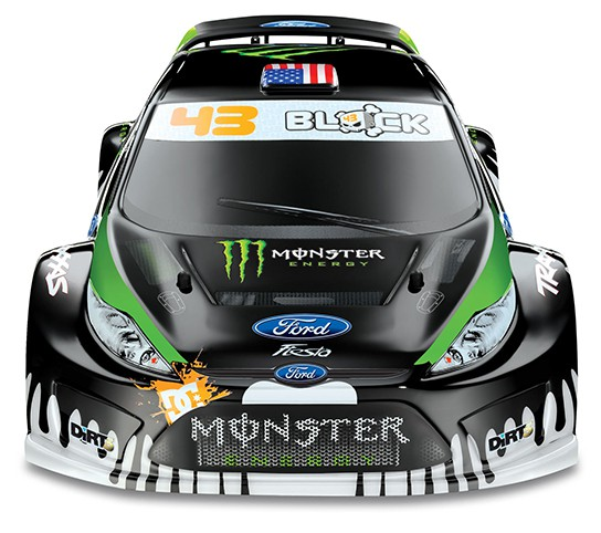 Ken Block, Traxxas collaborated on RC version of Block's #43 Ford ...