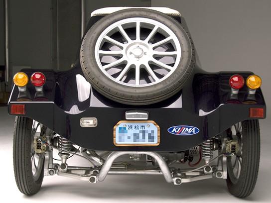 Takayanagi Miluira Electric Vehicle - rear view 544px