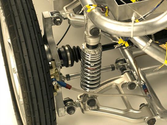 Takayanagi Miluira Electric Vehicle - suspension 544px