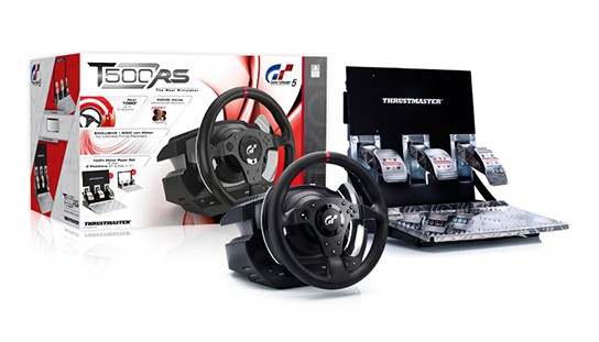 Thrustmaster T500 RS wheel and pedal set img1 544px