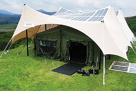 Transportable Solar-powered Tents 544px