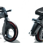 on sale now: futuristic high wheel bicycle for $3,600