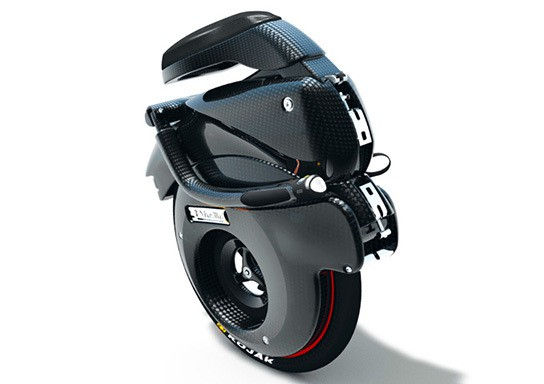 YikeBike folded - front view 544px