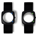 a wrist watch that does without a watch face