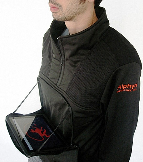 Alphyn Industries PADX-1 LEDGE Wearcom pullover 544px