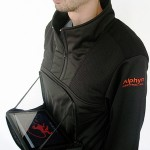 Alphyn Industries PADX-1 LEDGE Wearcom pullover unzipped 528x600px