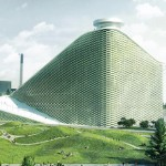 BIG puts a ski slope on a waste incineration building