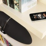 Bowers and Wilkins Zeppelin Air with iPhone 4 600px