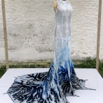 a Titanium Oxide coated dress that purifies the air