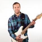 Custom SLR Split Strap - used with electric guitar 560px