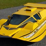 real life james bond car that turns into a hydroboat at the flip of a switch