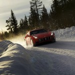 Ferrari FF - snow action shot 600x400px